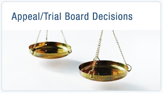 Appeal/Trial Board Decisions